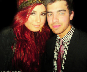 demi lovato and joe jonas image