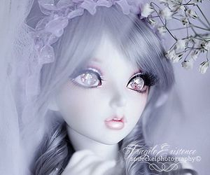beauty, doll, and black image