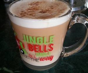 cafe, jingle bells, and capuchino image