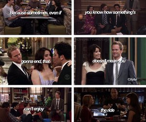 Barney Stinson, lily aldrin, and how i met your mother image