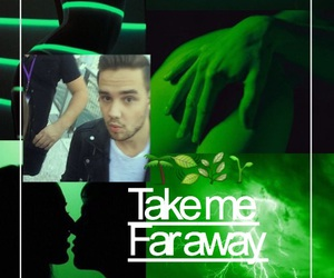 green, liam, and one direction image