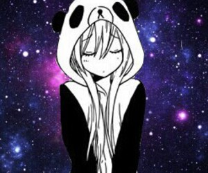 panda, anime, and manga image