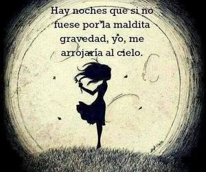 night, cielo, and frases image