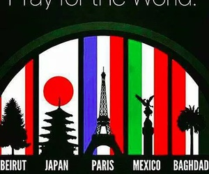 pray and world image