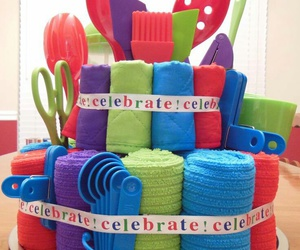 cake, celebrate, and decoration image