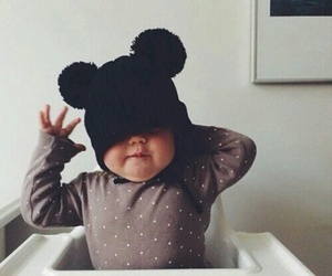 baby, sweet, and black image
