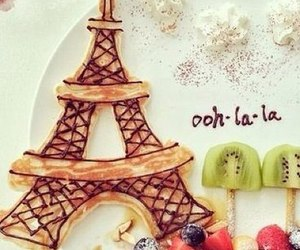 food, paris, and fruit image
