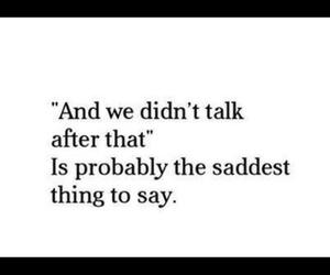 sad, quote, and love image