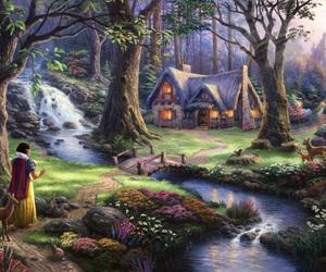 disney, snow white, and ディズニー image