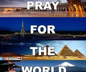 pray and world image