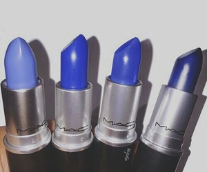 lipstick, mac, and blue image