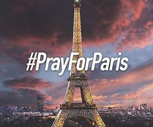 prayforparis, paris, and pray image