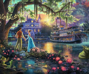 the Princess and the frog, ディズニー, and disney image