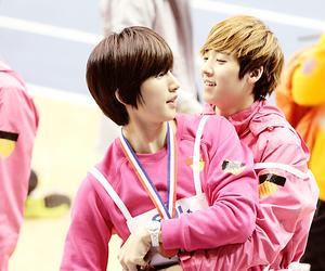 kevin, woo sung hyun, and u-kiss image