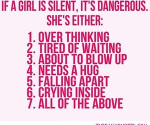 girl, quote, and text image