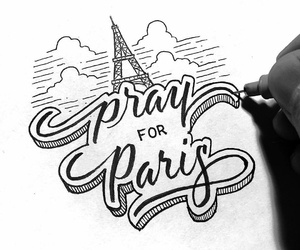 pray for paris image
