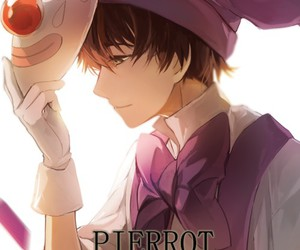 pierrot, vocaloid, and anime image