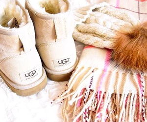winter, ugg, and autumn image