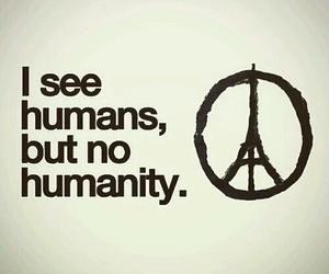 paris, humanity, and prayforparis image