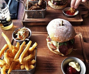 burger, food, and meal image