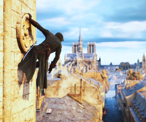 france, paris, and scenery image