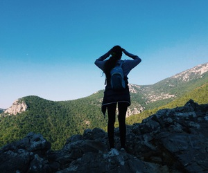 adventure, view, and bliss image