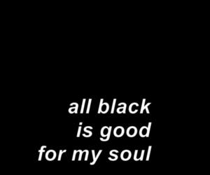 black, grunge, and soul image