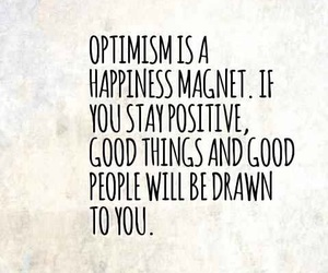 happiness, law of attraction, and optimisim image