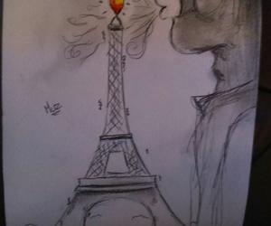 make love not war, never give up, and prayforparis image