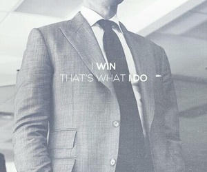 suit, win, and harvey specter image
