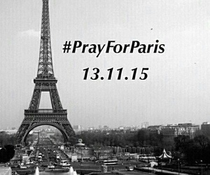 parís, pray, and pray for paris image
