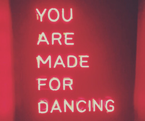 dance, neon, and dancers image