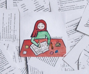 allah, cover, and exams image