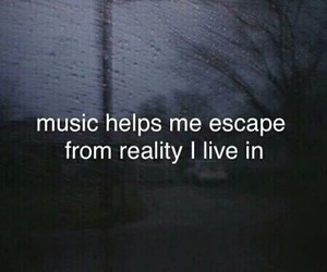 escape, help, and music image