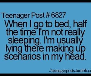 sleep, teenager post, and just me image