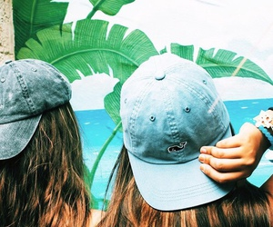 summer, friends, and tropical image