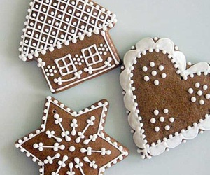 candy, christmas, and gingerbread image