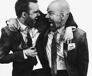 breaking bad, aaron paul, and walter white image