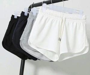 shorts, fashion, and black image