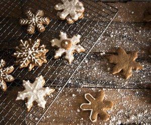 christmas, Cookies, and snowflakes image