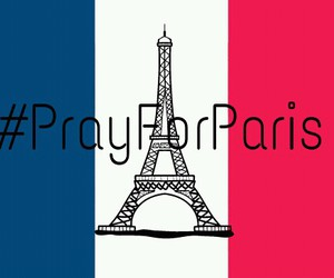 eiffel tower, paris, and pray image