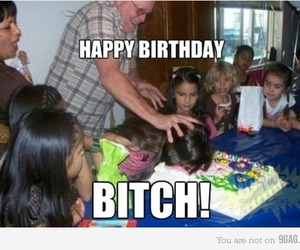 birthday, cake, and funny image