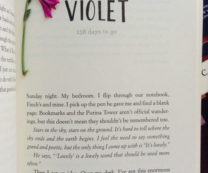 book, gravity, and violet image
