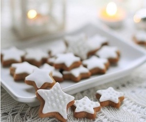 christmas, Cookies, and stars image