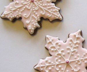 Cookies and snowflake image