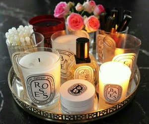 glass, backgrounds wallpapers, and scented luxury candles image