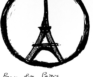 pray for paris, pray for humanity, and we just need peace image