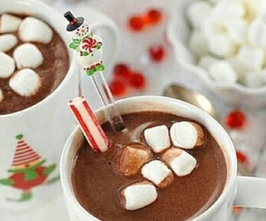 christmas, chocolate, and winter image