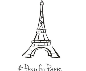 prayforparis, paris, and pray for paris image