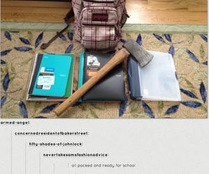 supernatural, funny, and tumblr image